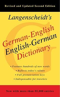 Langenscheidt's German-English English-German Dictionary By Langenscheidt Editorial Staff (EDT)